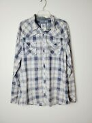 Bke Menand039s Size Xxl Ignition Pearl Snap Button-down Shirt
