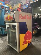 Red Bull Refrigerator Very Big Can Hold So Many Cans Retro Vintage Collectors