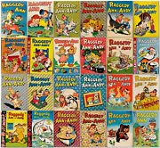 Raggedy Ann And Andy Johnny Gruel 1942-49 24 Issues Dell Comics Good 126941