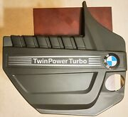 New - Bmw Part 7607447 Engine Cover - Twin Power Turbo