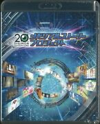 Anime Blu-ray Digimon Memorial Story Project Blu-ray + Can Badge + Clear Fil...
