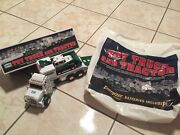 2013 Hess Toy Truck With Tractor Barely Used In Box And Bag Free Shipping Tested