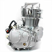 Motorcycle Engine Water-cooled Single Cylinder 4 Stroke 5 Speed Transmission Cfw