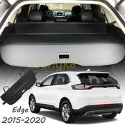 Rear Trunk Cargo Cover For Ford Edge 2015-2021 Luggage Security Shade Shield Van