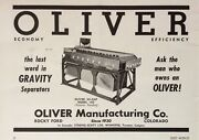 1954 Adxe6oliver Mfg. Co. Rocky Ford Co. Oliver Hi-cap 160 Seed Separator