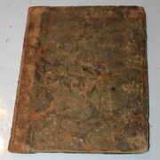 Antique 1817 Handwritten Journal Land Sale Jackson County Oh Commissioners