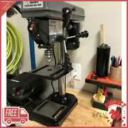 5 Speed All-purpose Bench Pillar Drill Press For Wood Or Metal Portable Drill