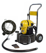 Steel Dragon Tools® K1500a Drain Cleaner Cleaning Machine 120' C11 Snake Cable