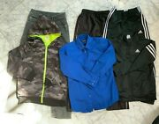 Boys Clothes Lot Size 10-12 Large Youth Fall Winter Lot 864 Adidas Activewear