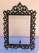 Antique Bronze/brass Gilt Very Big Picture Frame 21.5and039 X 16