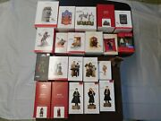 Awesome Hallmark 22 Piece Harry Potter Christmas Ornament Collectible Lot