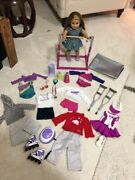 American Girl Doll Retired Mckenna With Accessories