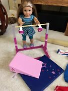 American Girl Doll Retired Mckenna With Gymnastic Perfect 4 Gift