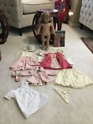 American Girl Doll Retired Elizabeth With Accessories