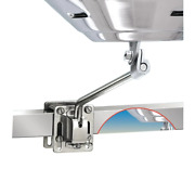 Magma Side Square Flat Rail Mount Stainless Steel For Any Marine Kettle Grill