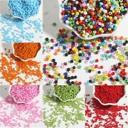 Wholesale 2-4mm Solid Color Czech Glass Loose Spacer Beads Jewelry Making
