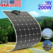 200w Flexible Outdoor Solar Panel Board Solar Power Charging System Module To