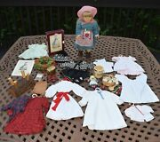 American Girl Doll Kirsten Pleasant Company Lot Clothing Accessories