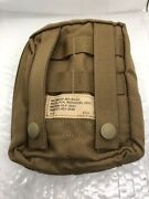 Usmc Sof Medical Pouchfsbe Coyote Brown Med Kit Ifak With Insert - New