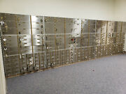 Bank Safety Deposit Boxes Excellent Condition W/ Master Keys And Vault Boxes