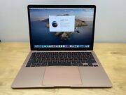 Apple Macbook Air 13.3 I5 8gb 512gb - Bent - Powers On - Sold As Is