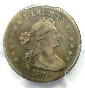 1803 Draped Bust Half Dime H10c - Certified Pcgs Vf Details - Rare Date Coin