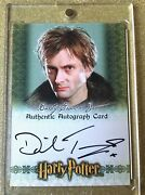 Harry Potter World Of 3d Autograph David Tennant As Barty Crouch Jr.