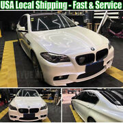 65ft X 5ft Pearlescent Glossy White Pearl Chameleon Blue Vinyl Car Wrap Graphics