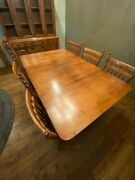 Antique Tell City Dining Room Set For Sale