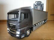 Remodeling By The Owner - Man 10t Box Car Tamiya 1/14 Andrdquotestedandrdquo From Japan 9772