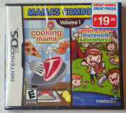 Cooking Mama And Camping Outdoor Adventures - Mamas Combo Vol 1 New Sealed