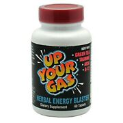 House Of David Up Your Gas Energy Blaster - 60 Tablets Ma Huang Free X 6