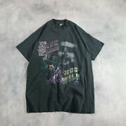 Secondhand 90s Made In Usa Fruit Of The Loom Room Hank Williams Print T-s _18318