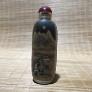 Chinese Crystal Hand-made Inner Painting Exquisite Snuff Bottle 17741