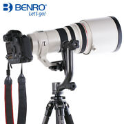 Open, Benro Gh2 Panoramic Head W Pl100 Plate Tripod Head For Dslr Camera