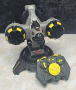 Air Hogs Battle Tracker Rocket Launcher And Heli Controller For Parts Or Repair