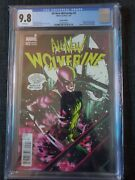 All New Wolverine 2 Lopez 125 Variant Cgc 9.8 1st Appearance Honey Badger