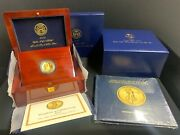 2009 Ultra High Relief Double Eagle Gold Coin 24k 1oz .9999 Certificate/box/book