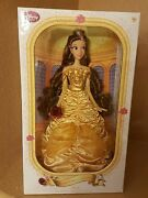 Disney Store Belle Doll Beauty And The Beast Nib Limited Edition 17