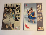 2x First Lone Wolf And Cub Frank Miller Comic Book Bundle 1 2 Lot
