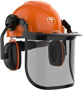 Chainsaw Helmet Safety Forestry Helmet Safety Protective Helmet With Anti-fog