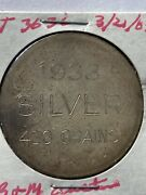 1933 Pedley-ryan And Co, Denver Silver So-called Dollar Type Iv Hk-825