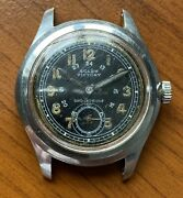 Mega Rare Military Wwii Rolex Victory Caliber 59 With Amazing Black Dial