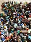 1/2 Pound Vintage To Now Glass Beads Mix Sizes And Styles Jewelry Making Supply