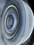1949 Plymouth Spare Tire With Hubcap