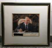 Original Authographed Photo Of General Augusto Pinochet Chile Chilean President