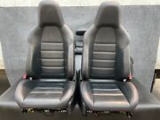 ✔mercedes W204 C63 Amg Sport Seat Heated Seats Cushion Leather Suede Set Oem