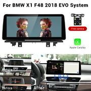 12.3 Ips Car Gps Android Navigation Stereo Radio For Bmw X1 F48 2018 Evo System
