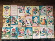 Vintage Old Maid Game Nursery Rhymes Playing Cards Little Miss Muffet Mary Lamb