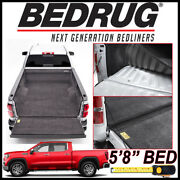 Bedrug Custom Fit Bed Liner Mat 2019-2021 Gmc Sierra 1500 New Body W/ 5and0398 Bed